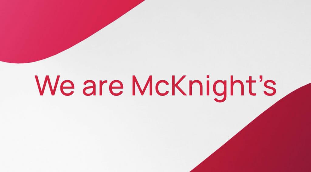 We are McKnight's!